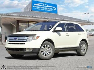2007 Ford Edge SEL Plus LOADED AWD LEATHER SUNROOF NAVI LOW KMS