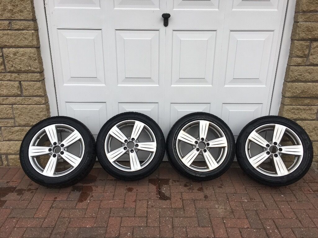 alloy wheels mercedes e class 245 45 r17 in glenrothes fife gumtree. Black Bedroom Furniture Sets. Home Design Ideas