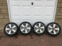 Alloy Wheels and Winter Tyres - Mercedes E-Class - 245/45 R17