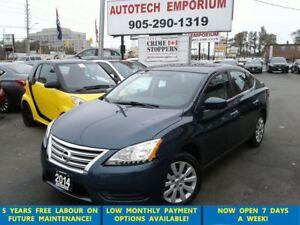 2014 Nissan Sentra Auto Bluetooth/All Power Options &GPS*$39/wkl