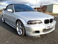 BMW E46 330CI M SPORT,petrol,semi-auto,tuned convertible, street competition show car, just like M3
