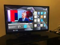 JVC 24 inch HD LED Smart TV with DVD, wifi, Freeview HD