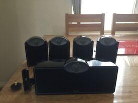 TANNOY SFX Satellite Surround Sound Speakers