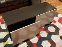 IKEA Besta black brown drawer unit
