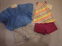 Girls age 2-3 years clothes bundle includes: M&S, Next and Mothercare