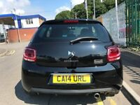 2014 (14 reg) Citroen DS3 1.2 VTi DSign By Benefit 3dr Low Insurance/Ltd Ed 5 Speed Manual Petrol