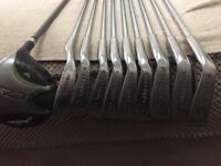 Golf clubs - Full set of irons.