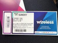 £150 x 5 wireless tickets