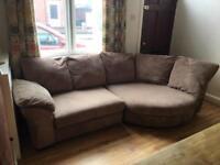 Curve corner sofa