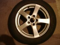 "16"" ALLOY WHEELS with MICHELIN PREMACY all-weather TYRES"