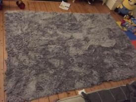 Ex-display grey rug RRP 339