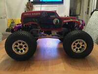 Grave digger collectable hpi savage monster truck rc