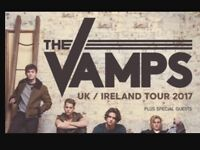 2 tickets for the Vamps sold out gig at the hydro seated