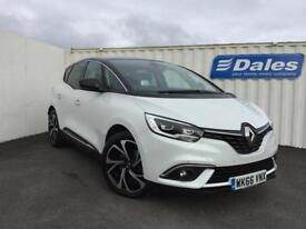 Renault Scenic 1.6 dCi 160 Signature Nav 5dr Auto (artic white with black roof) 2016