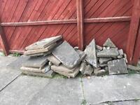 Free hardcore rubble
