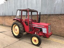 International 454 diesel tractor, runs and works well