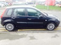 FORD FIESTA 1.25 Style 5dr [Climate] (black) 2007