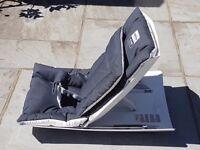 Inglesina Loft Rocking Baby Infant Chair Rocker Seat - Graphite Grey White