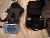 Canon ixus L - 1 APS compact camera good condition with case