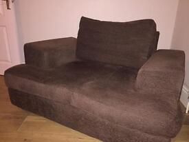 Sofa /cuddle chair - £10. COLLECTION ONLY from Exeter.