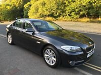 2012 BMW 520D 2.0 EfficientDynamics BluePerformance DIESEL, LONG MOT, FULL SERVICE HISTORY, SAT NAV