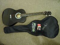 Martin Smiths acoustic guitar in black