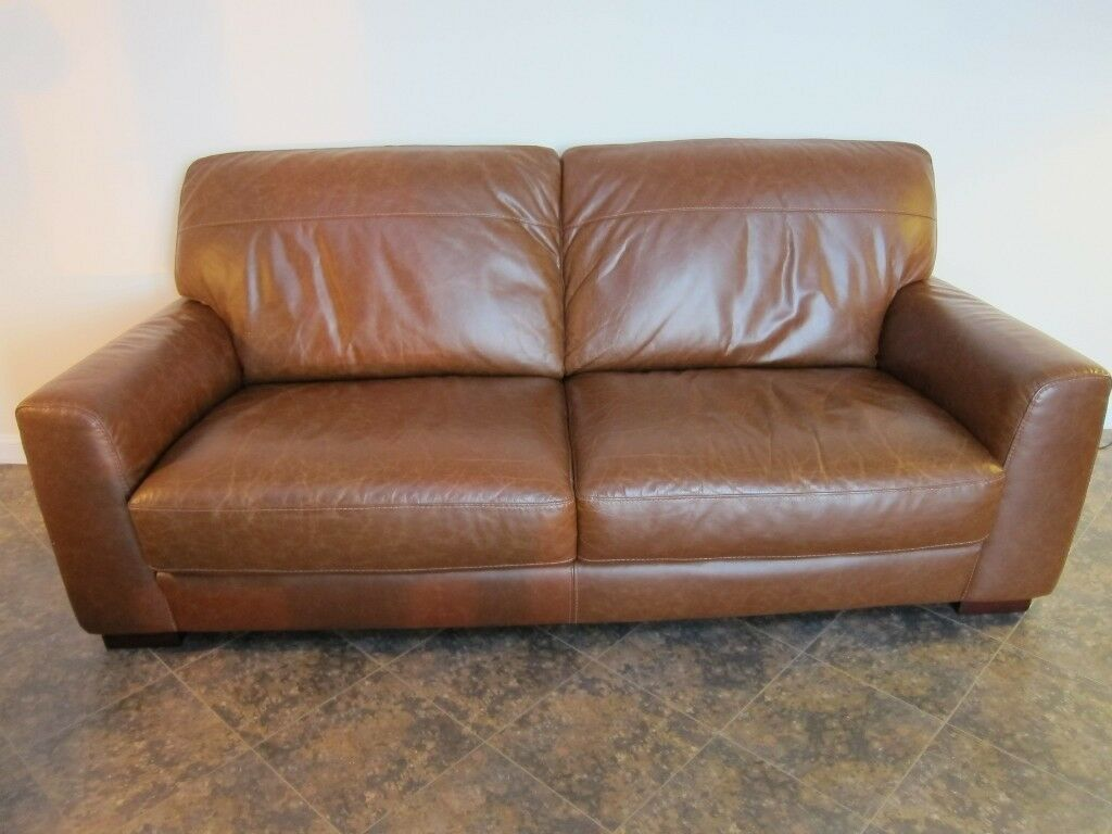Prime Sagres 3 Seater Sofa In Vintage Tan Leather Ex Gillies Of Broughty Ferry Retails 889 As New In Broughty Ferry Dundee Gumtree Dailytribune Chair Design For Home Dailytribuneorg