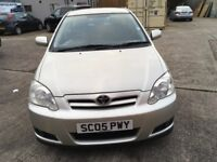 Toyota Corolla 1.6 petrol silver 5 door 1 former owner owner full service his...