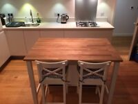 Kitchen island and chairs from Ikea £150