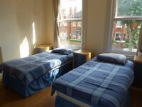 BRIGHT Twin Room £180pw Available Now!!! Great location!!!