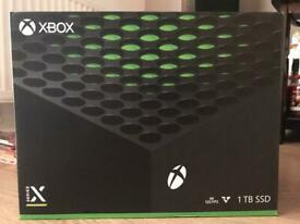 XBOX SERIES X 1TB *BRAND NEW & SEALED*