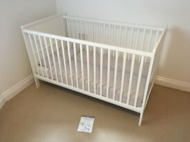 Kiddicare Somerset Cot Bed - with instructions