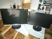LG and Samsung Monitors