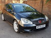 Honda Civic 1.6 i-VTEC Sport, Nice example with lots of service history, Type R replica