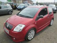 CITROEN C2 1.6i 16V VTS 3dr (red) 2006