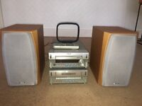 Sony stereo system (cd, radio and cassette)