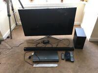 Samsung 3D tv and home cinema bundle