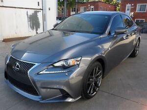 2014 Lexus IS 250 AWD F-SPORT-2 TOIT OUVRANT+NAVIGATION+CAMERA D