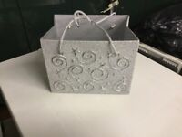 Lovely silver decorated hard box