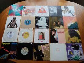 VINYL RECORDS + CDs – VARIOUS GENRES & ERAS PLUS CASSETTE HOLDER + Nervous Records USA Top
