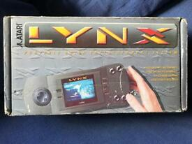 Atari lynx boxed console & game