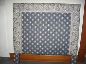 Twin/Single Upholstered Headboards with Duvet Covers
