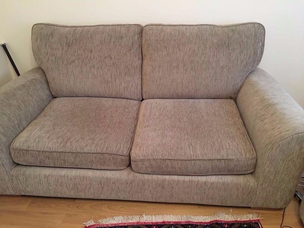 3 Piece Furniture Village Lonsdale Sofa Set Excellent Condition