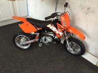 Ktm 50 sx junior extremely low & lite use only. Also Lem 65 rx kids MX bike very cheap