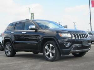 2016 Jeep Grand Cherokee Limited! NAV! Roof! Leather!