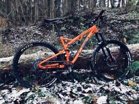 Whyte t130 mountain bike mtb