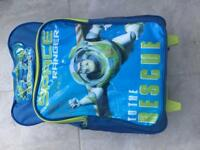 Space ranger wheeled bag