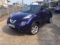 Nissan 2015 1598 CC Patrol Juke Hatchback in Blue Manual for Sale