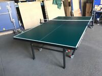 Gallant Knight Academy 19 Indoor Table Tennis Table - Green (damaged in transit) *COLLECTION ONLY*