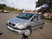 Vauxhall zafira 1.6 7seater great condition hpi clear long mot swap